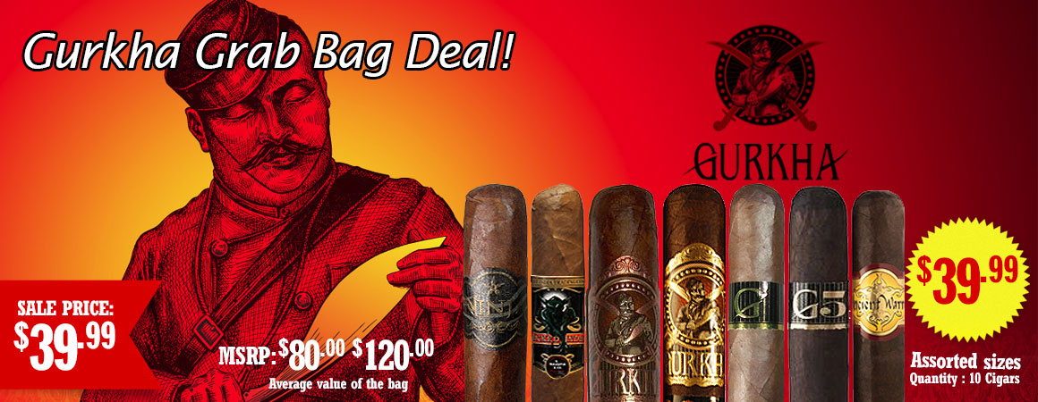 Gurkha Grab bag deal!