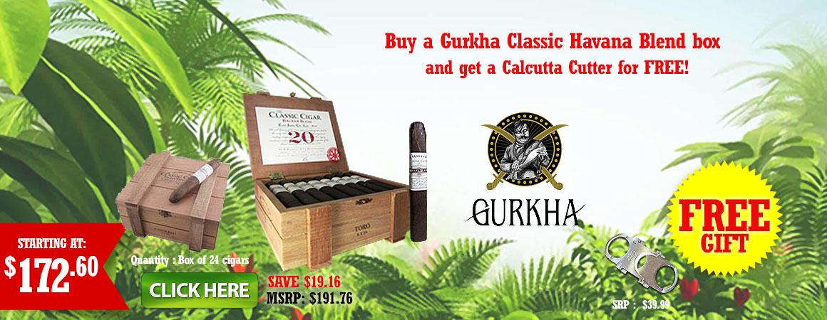 Gurkha Cigars havana blend classic