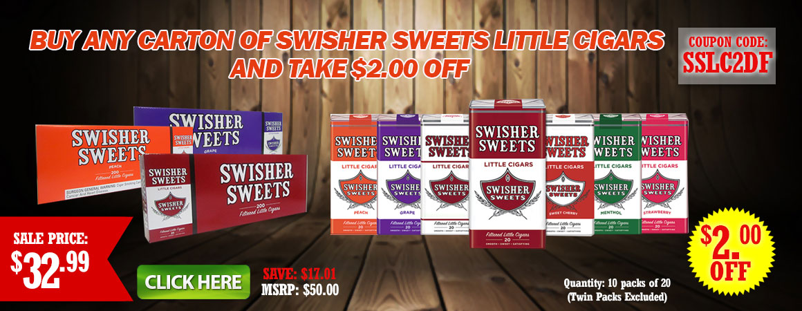 Swisher sweets little cigars