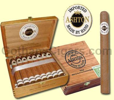 Buy Ashton Classic Cigars at the lowest prices for cigars online at GothamCigars.com - Click here