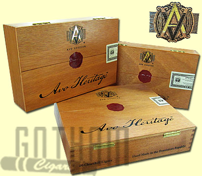 Buy Avo Heritage Series Cigars at the lowest prices online at GothamCigars.com - Click here