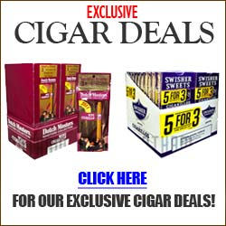 Get the best cigar deals online when you shop GothamCigars.com - browse our cigar deals - click here.