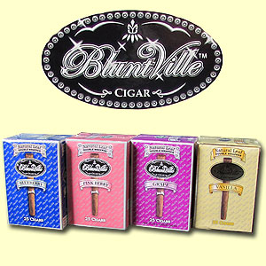 Buy BluntVille Cigars at the lowest prices online at GothamCigars.com - Click here
