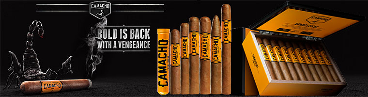 Buy Camacho Connecticut cigars at the lowest prices online at GothamCigars.com - Click here