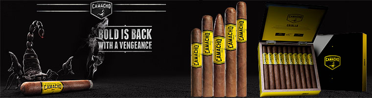 Buy Camacho Criollo Cigars at the lowest prices for cigars online at GothamCigars.com - Click here