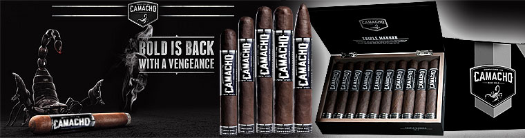 Buy Camacho Triple Maduro Cigars at the lowest prices online at GothamCigars.com - Click here!