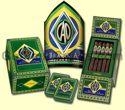 Buy CAO Brazilia Cigars at the lowest prices online at GothamCigars.com - Click here!