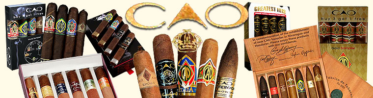 Buy CAO Cigar samplers at the lowest prices for cigars online at GothamCigars.com - Click here