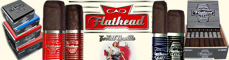 Buy CAO Flathead Cigars at the lowest prices online at GothamCigars.com - Click here