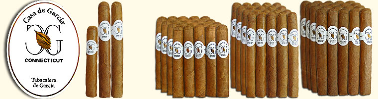 Buy Casa de Garcia Connecticut Cigars at the lowest prices for cigars online at GothamCigars.com - Click here