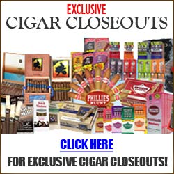 Grab the best cigar closeout deals online at GothamCigars.com - Browse all of our cigar closeout deals - click here!