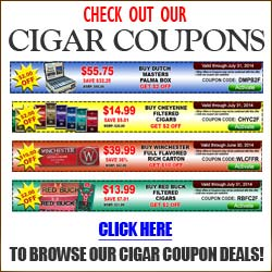 The Best Cigar Coupons Deals online - Click here to Save.