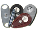 We offer a variety of quality and stylish cigar cutters.