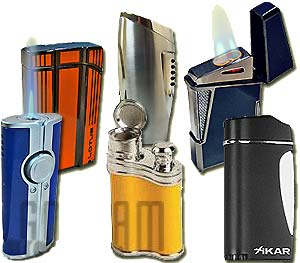 Cigar Lighters from GothamCigars.com - Browse Our Entire Selection Below.