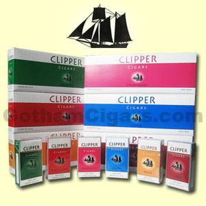Clipper Filtered Cigars from Clipper Cigars comes in a variety of cigar flavors – at the lowest prices online from GothamCigars.com