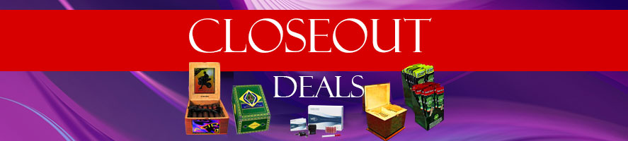 Check out our great closeout deals on cigars and cigar accessories online! Start saving with GothamCigars.com - Click here