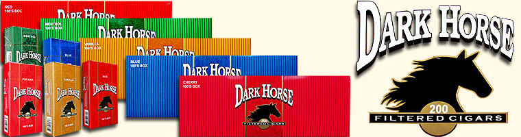 Buy Dark Horse Filtered Cigars at the lowest prices for cigars online at GothamCigars.com - Click here!
