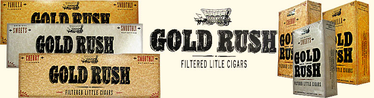 Buy Gold Rush Little Cigars and save on your little cigars. Visit GothamCigars.com - Click here!