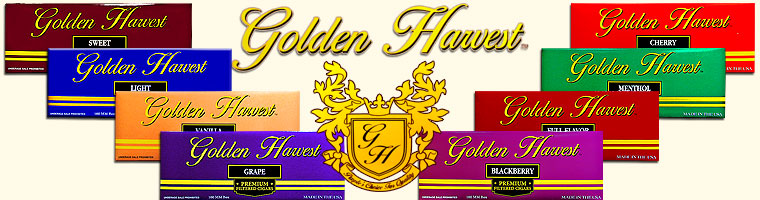 Buy Golden Harvest Filtered Cigars at the lowest prices online at Gotham Cigars! - Click here