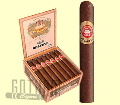 Buy H. Upmann 1844 Reserve Cigars at the lowest prices online at GothamCigars.com - Click here!