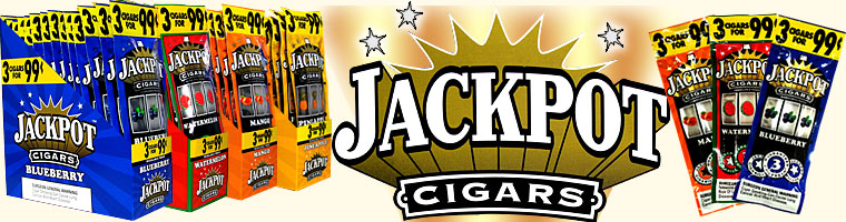 Buy Jackpot Cigarillos at the lowest prices online at GothamCigars.com - Click here