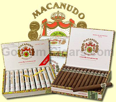 Buy Macanudo Cigars at GothamCigars.com at the lowest prices for cigars online! - Click here.
