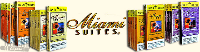Buy Miami Suites Cigars at the lowest prices for cigars online at GothamCigars.com - Click here