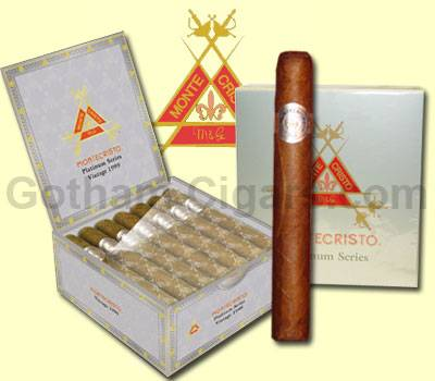 Buy Montecristo Platinum Cigars at the lowest prices for cigars online! - Click here