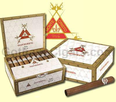 Buy Montecristo White Cigars at the lowest prices for cigars online at GothamCigars.com - Click here!