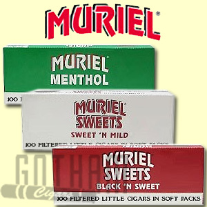 Muriel Little cigars