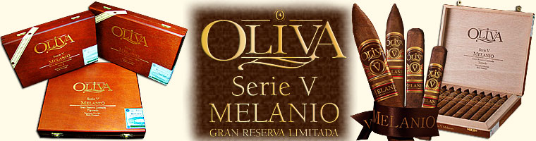 Buy Oliva Serie V Melanio Cigars at the lowest prices for cigars online at Gotham Cigars! - Click here