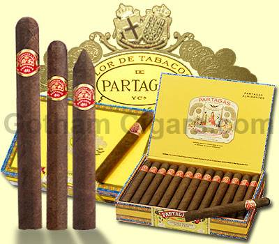 Buy Partagas Cigars at the lowest prices online at GothamCigars.com - Click here!