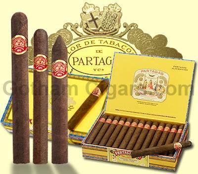 Partagas cigars
