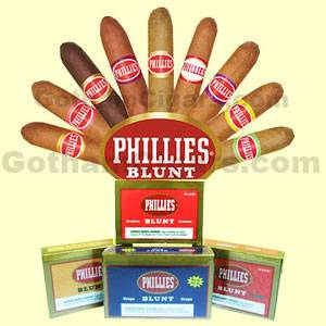 Phillies Cigars are flavored cigars offering wide selection of cigars in a variety of shapes, sizes and flavors. Buy Phillies little cigars at the lowest prices online from GothamCigars.com