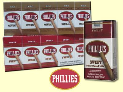 Phillies Little Cigars from Phillies Cigars comes in a variety of cigarillo flavors -  Buy at the lowest prices online from GothamCigars.com