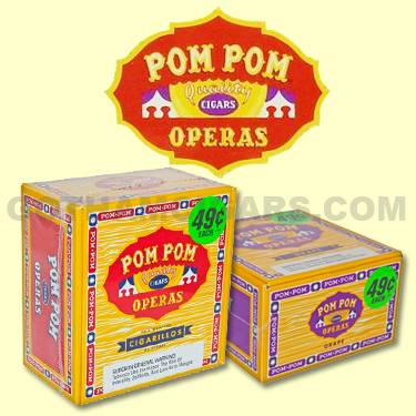 Buy Pom Pom Operas Cigars at the lowest prices for cigars online at GothamCigars.com - Click here