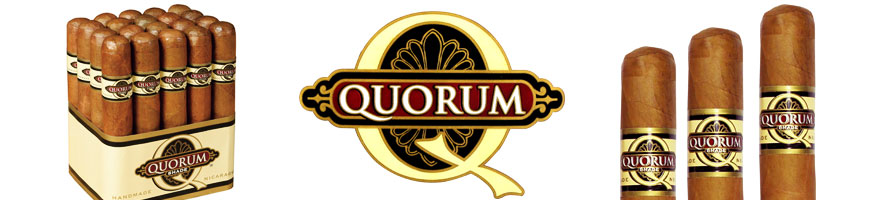 Buy Quorum Cigars at the lowest prices for cigars online at GothamCigars.com - Click here!
