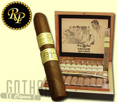 Buy Rocky Patel Decade Cigars at the lowest prices online at GothamCigars.com - Click here!