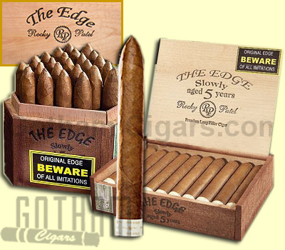 Buy Rocky Patel The Edge Cigars at the lowest prices for cigars online at GothamCigars.com - Click here!