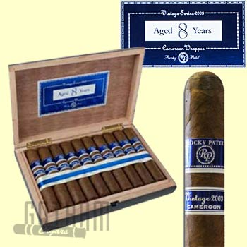 Buy Rocky Patel Vintage 2003 Cameroon Cigars online at the lowest prices at GothamCigars.com - Click here!