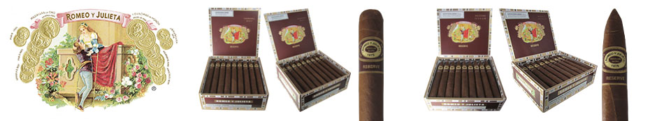 Romeo Y Julieta Reserve Cigars