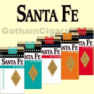 Buy Santa Fe Little Cigars and other filtered cigars at the lowest prices at GothamCigars.com - Click here