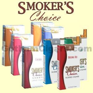 Buy Smoker's Choice Large Filtered Cigars at the lowest prices for cigars online at GothamCigars.com - Click here!