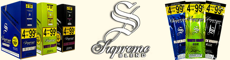 Buy Supreme Blend Cigarillos at GothamCigars.com at the lowest prices online! - Click here