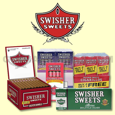 Get your favorite Swisher Sweets Cigars at GothamCigars.com at the lowest prices online! - Click here