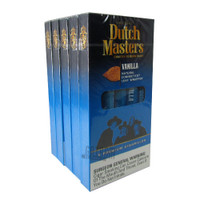 Dutch Masters Cigarillos Vanilla (blue) Pack