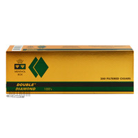 Double Diamond Cigars Menthol 100's carton