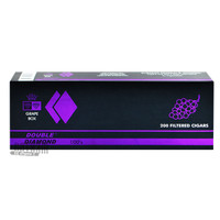 Double Diamond Cigars Grape 100's carton