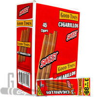 Good Times Cigarillos Sweet Pouch upright & foilpack