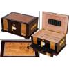 The Solana Cigar Humidor Box & Open Box
